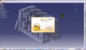 GeomCaliper for CATIA V5 wall Thickness checking, analysis software